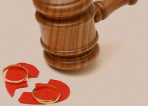 Процедура развода и раздела имущества