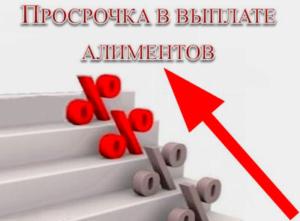 Размеры алиментов и сумма неустойки за просрочку уплаты