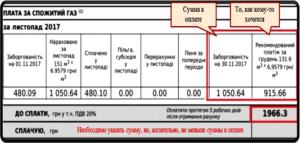 Пример нового вида платежного документа